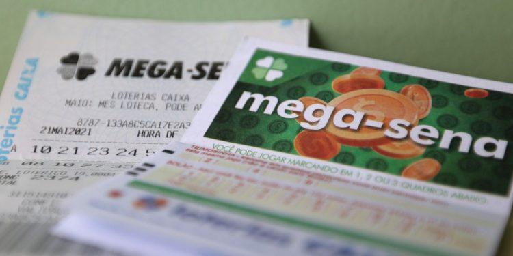 O próximo sorteio da Mega-Sena será realizado nesta terça-feira (28). Foto: Arquivo