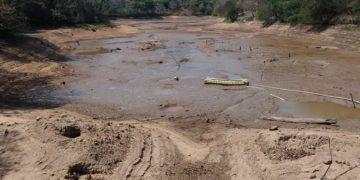 Barragem Moinho Velho, em Valinhos, na qual a captação teve que ser suspensa. Foto: Divulgação