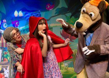Espetáculo 'Chapeuzinho Vermelho': atração deste domingo no Polo Teatro, em Indaiatuba - Foto: Divulgação