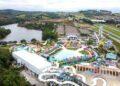 O parque aquático Wet'n Wild, uma das atrações do novo Distrito Turístico Serra Azul - Foto: Eliel Rezende/PMV