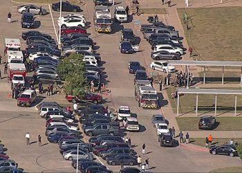 Um suspeito já foi identificado pela polícia de Arlington (Texas). Foto: Reprodução/Twitter