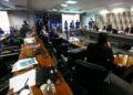 Integrantes do colegiado aprovaram requerimento que pede a quebra de sigilo telemático das redes sociais do presidente Jair Bolsonaro - Foto: Marcelo Camargo/Agência Brasil