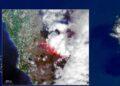 Foto: Reprodução/Copernicus Satelitte/União Europeia