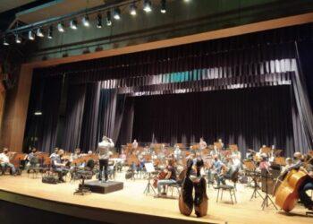 Orquestra Sinfônica de Campinas ensaia para apresentação deste sábado com o maestro convidado Eduardo Pereira - Foto: Divulgação/PMC
