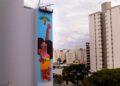 Pintura está na lateral do prédio Dona Othilia, no Centro de Campinas - Foto: Divulgação