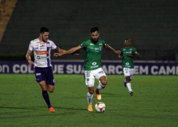 O Guarani venceu o Confiança por 1 a 0 no último confronto entre as equipes no Brinco de Ouro da Princesa. Foto: Thomaz Marostegan/Guarani FC