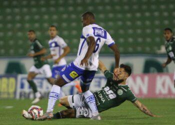 Bruno Sávio marcou o primeiro gol do Guarani e depois acabou expulso de campo