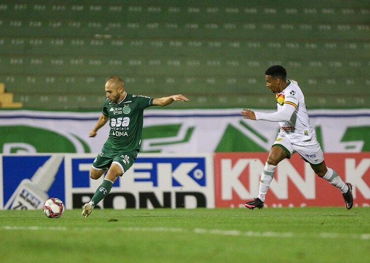 Guarani e Sampaio Corrêa empataram por 0 a 0, no Brinco de Ouro da Princesa, no primeiro turno desta Série B. Foto: Thomaz Marostegan/Guarani FC