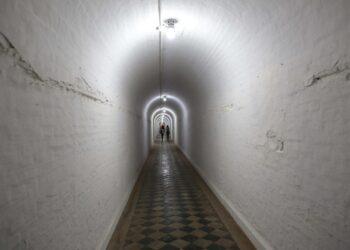 """Túnel da Vila Industrial - um dos pontos do """"Tour Assombrado"""" Foto: Leandro Ferreira/Hora Campinas"""