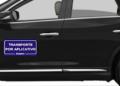 As placas de identificação não são mais obrigatórias nos veículos de aplicativos. Foto: Arquivo