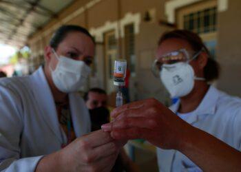 Boletim epidemiológico não registra mortes nas últimas 24h: vacinação. Foto: Leandro Ferreira/ Hora Campinas